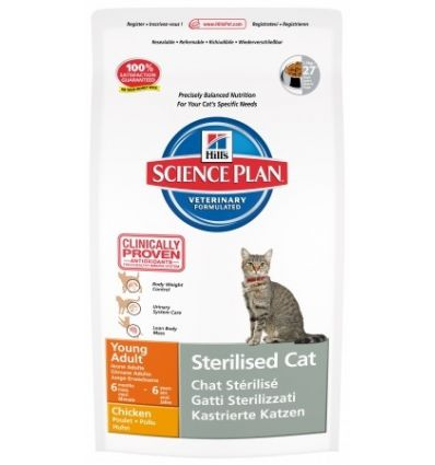 SP Feline Young Adult Sterilised (Poulet)