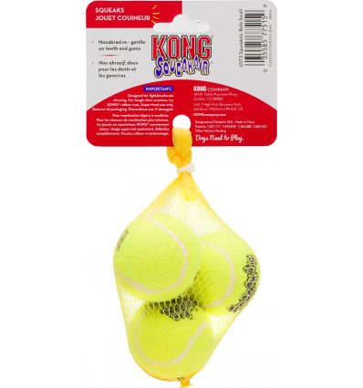 Kong Air Squeaker (filet de 3balles)