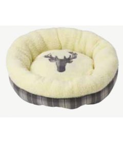 Xmas Tweed Donut bed