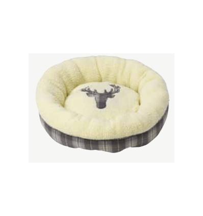 Xmas Tweed Donut bed