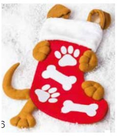 Xmas Dog stocking