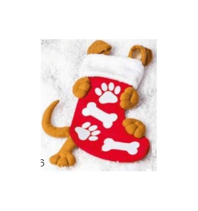 Xmas Dog stocking
