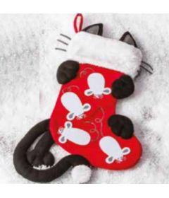 Xmas Cat stocking
