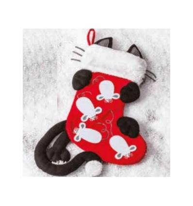 Xmas Cat stocking