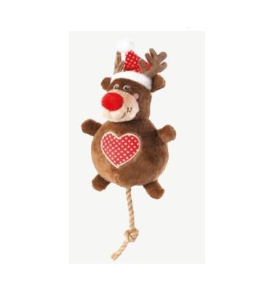 Xmas Rudolph snowball