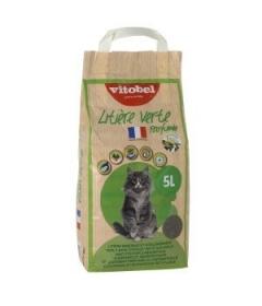 Litière verte Parfumée Vitobel