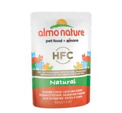 HFC Natural Saumon Potiron