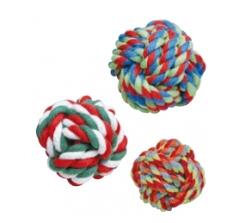 Balle en corde en coton