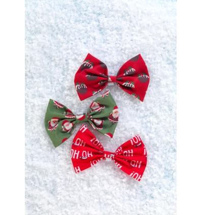Bow Tie Christmas Santa