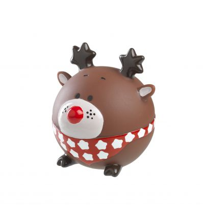 Xmas Rudolph Ball Latex