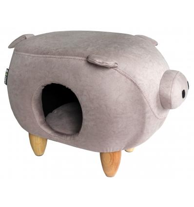 Cochon en suédine