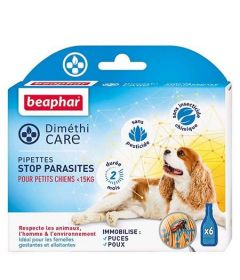 Pipettes insectifuges chien