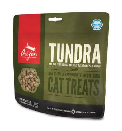 Treat Tundra Cat