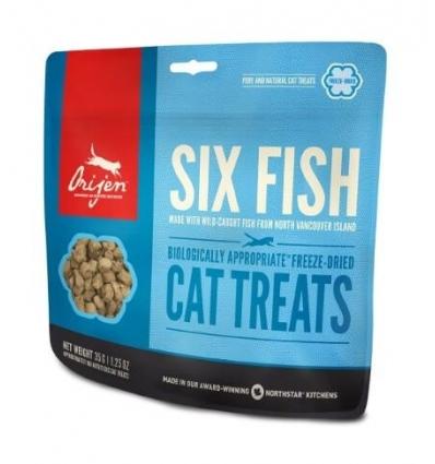 Treat Six fish Cat