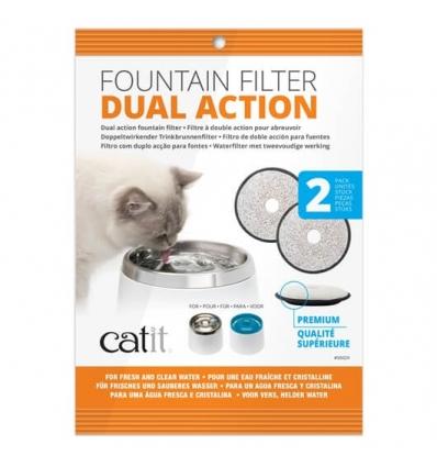 Filtres pour Fontaine à eau Catit (x2)