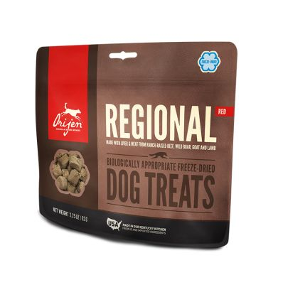 Treat Regional Red Dog