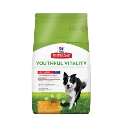 Canine Adult 7+ Youthful Vitality Medium