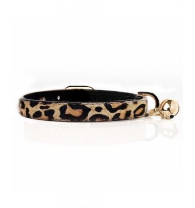 Collier léopard Chat