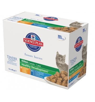 Kitten Multipack Multisaveur (12x85g)