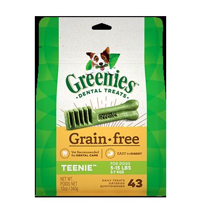 Greenies Teenie sans céréales
