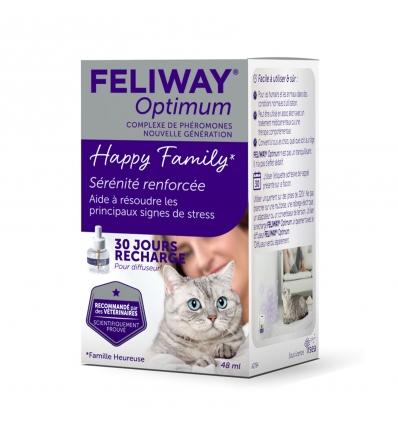 Diffuseur et Recharge Feliway Optimum (48ml)