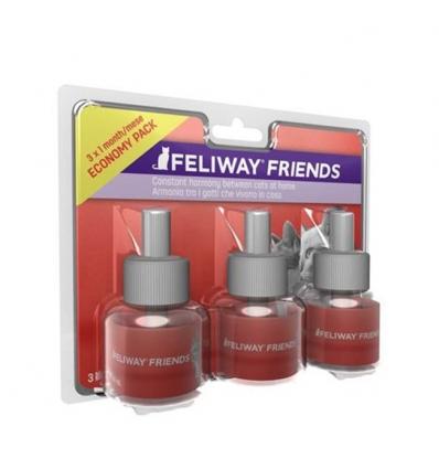 Feliway Friends Pack de 3 recharges