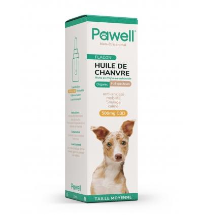 Huile de Chanvre (chien de 10 à 20kg)