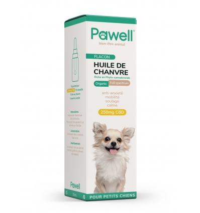 Huile de Chanvre (chien de moins de 10kg)