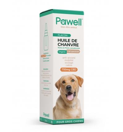 Huile de Chanvre (chien de plus de 20kg)