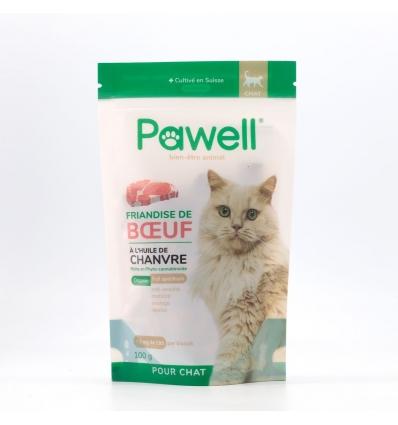 Friandise à l'huile de Chanvre (chat)