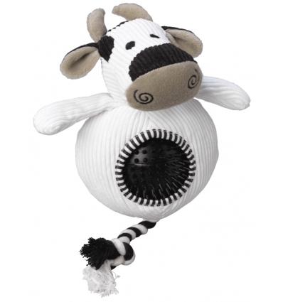 Peluche Corde et Balle Vache
